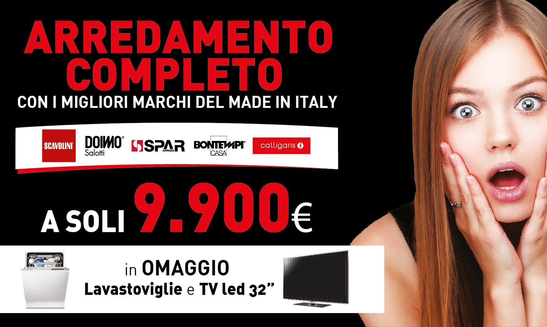 Promozione Arredo Completo - Montella Prisma Arredo a Salerno
