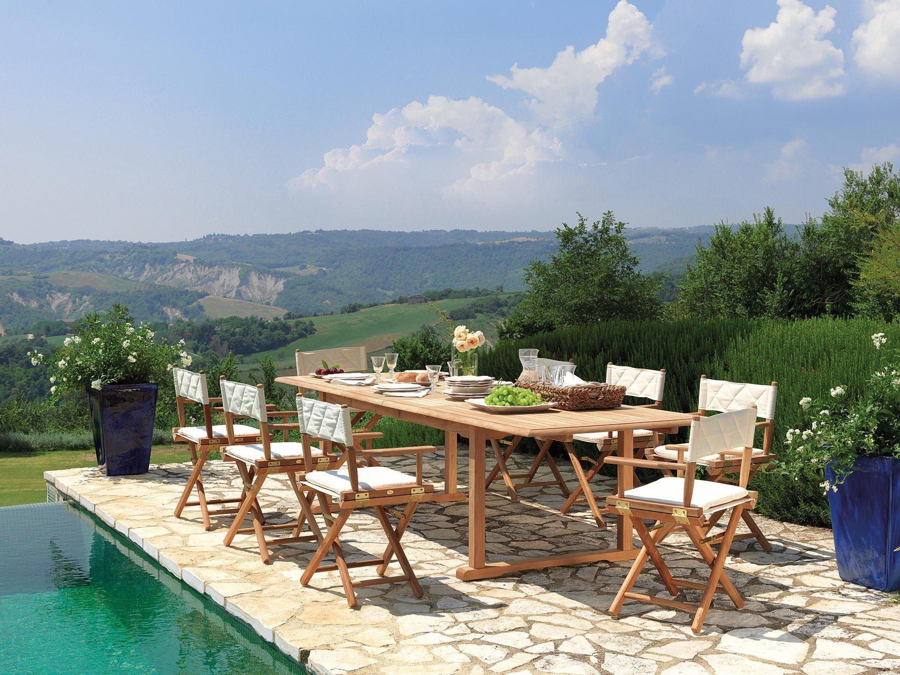 Tavolo giardino MILTON a Salerno da Montella Prisma Arredo