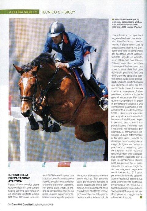 Cavalli & Cavalieri - luglio/agosto 2008