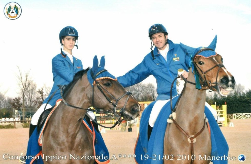 prize-giving for show jumping