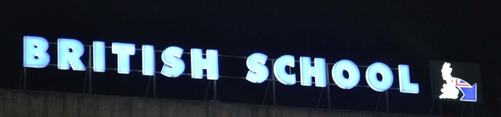lettere scatolate con illuminazione a led e neon
