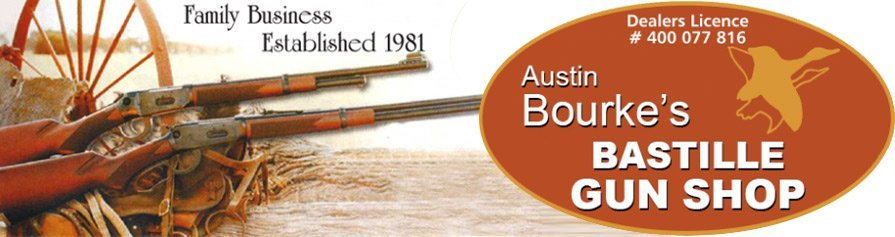 austin bourkes bastille gun shop business header