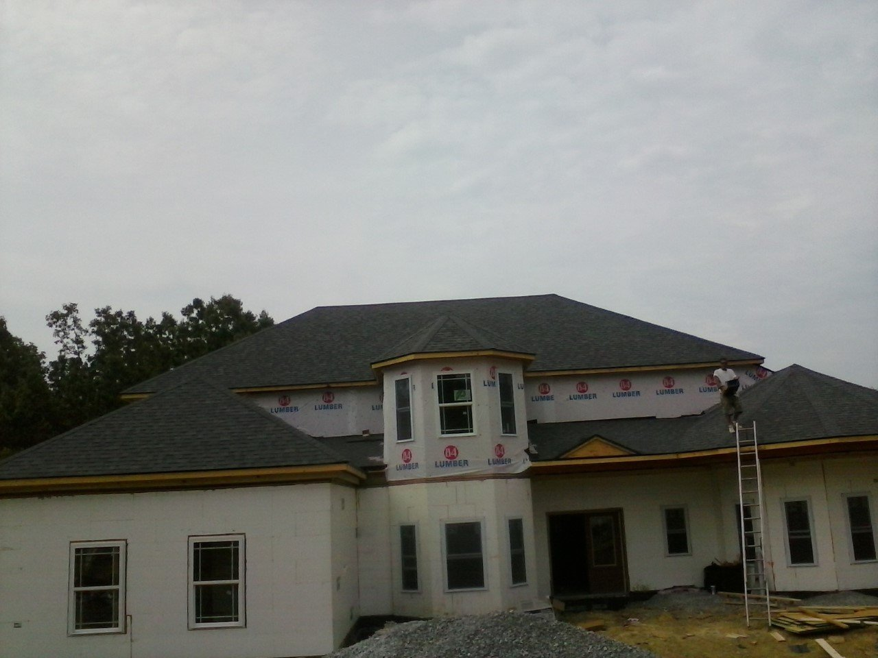 New roof construction in Lexington, KY