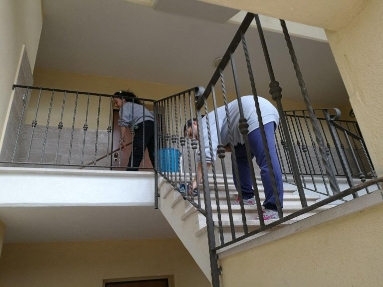 pulizie straordinarie, pulizie condominiali, pulizie a fondo condominiali, Cerveteri, roma