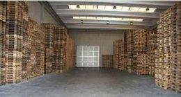 articoli di legno per imballaggio, articoli di legno per magazzinaggio e trasporto, bancali
