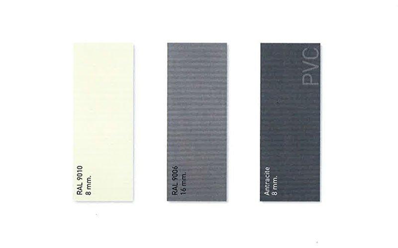 Portoni sezionali Millerighe - colori disponibili - Possibilita