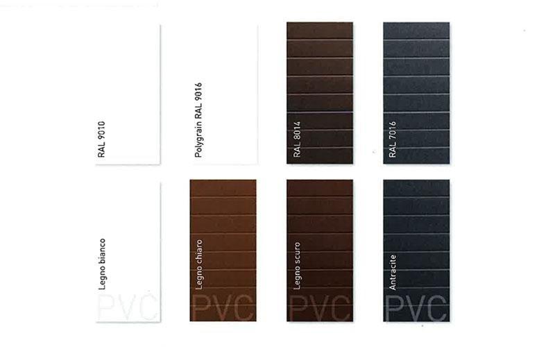 Portoni sezionali Doga Bassa - colori disponibili - Possibilita