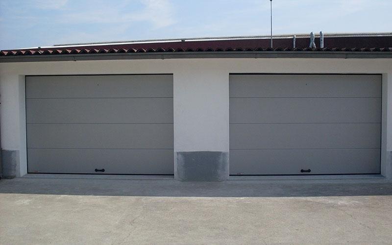 doppia porta sezionale