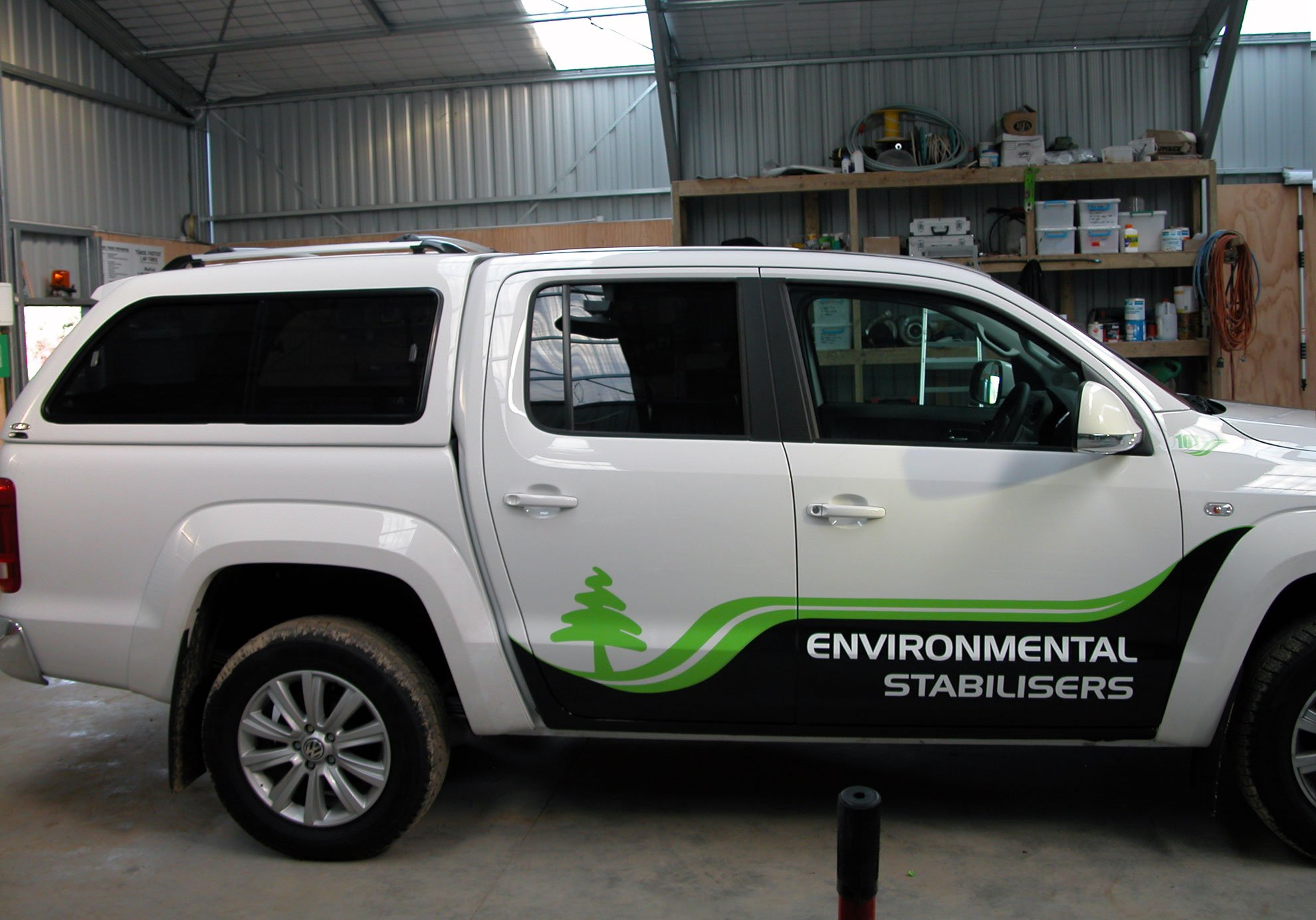 High performance vinyls signed onto ute