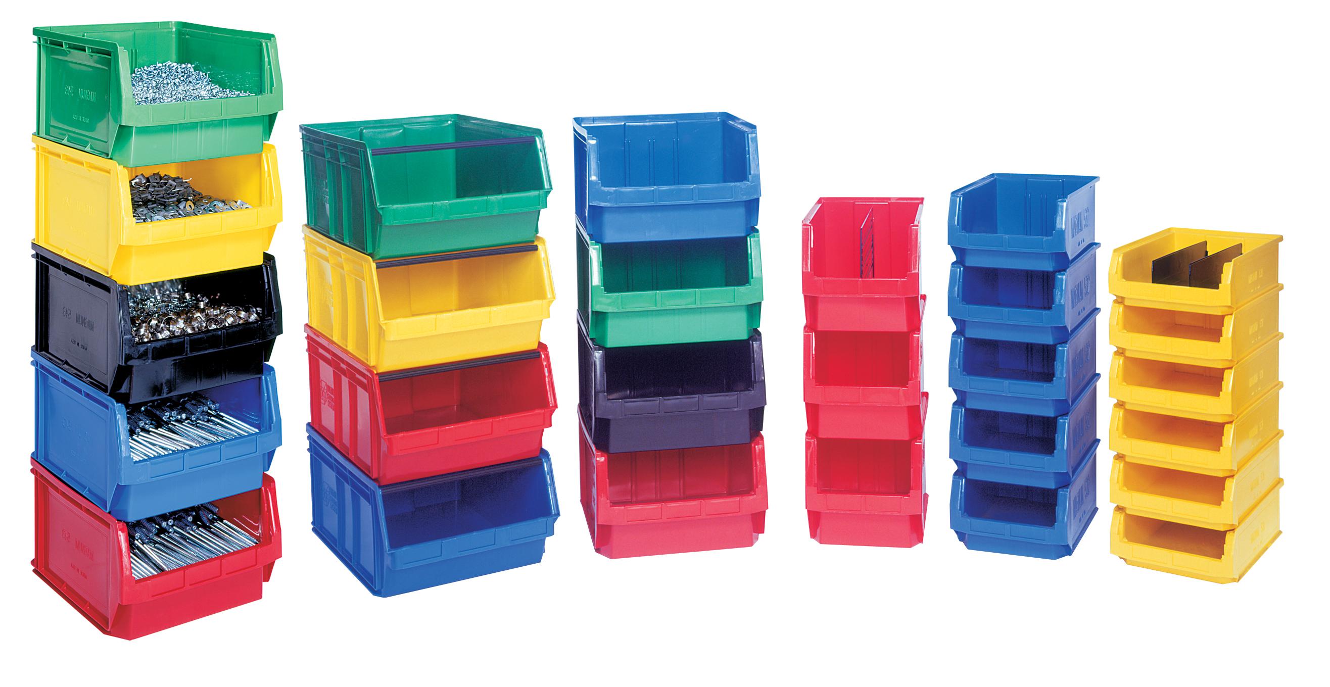 Bins and Bin Storage Systems