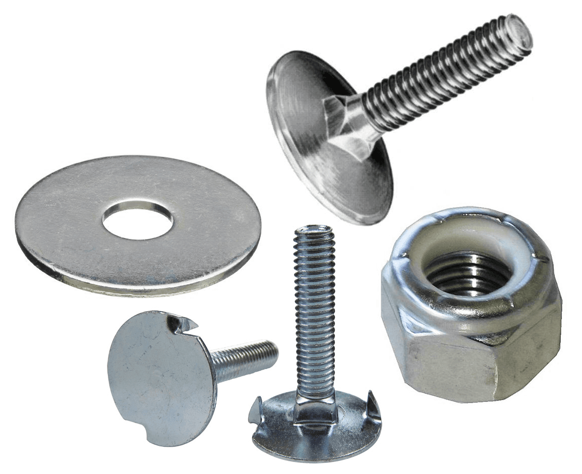 Elevator Bolts, Washers, and Nuts