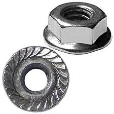 Flange Serrated Lock Nut