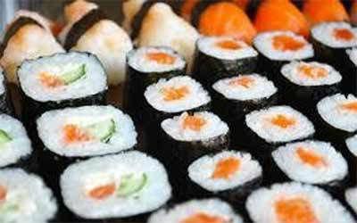 diverse classi di sushi