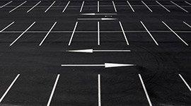 segnaletica orizzontale parcheggi