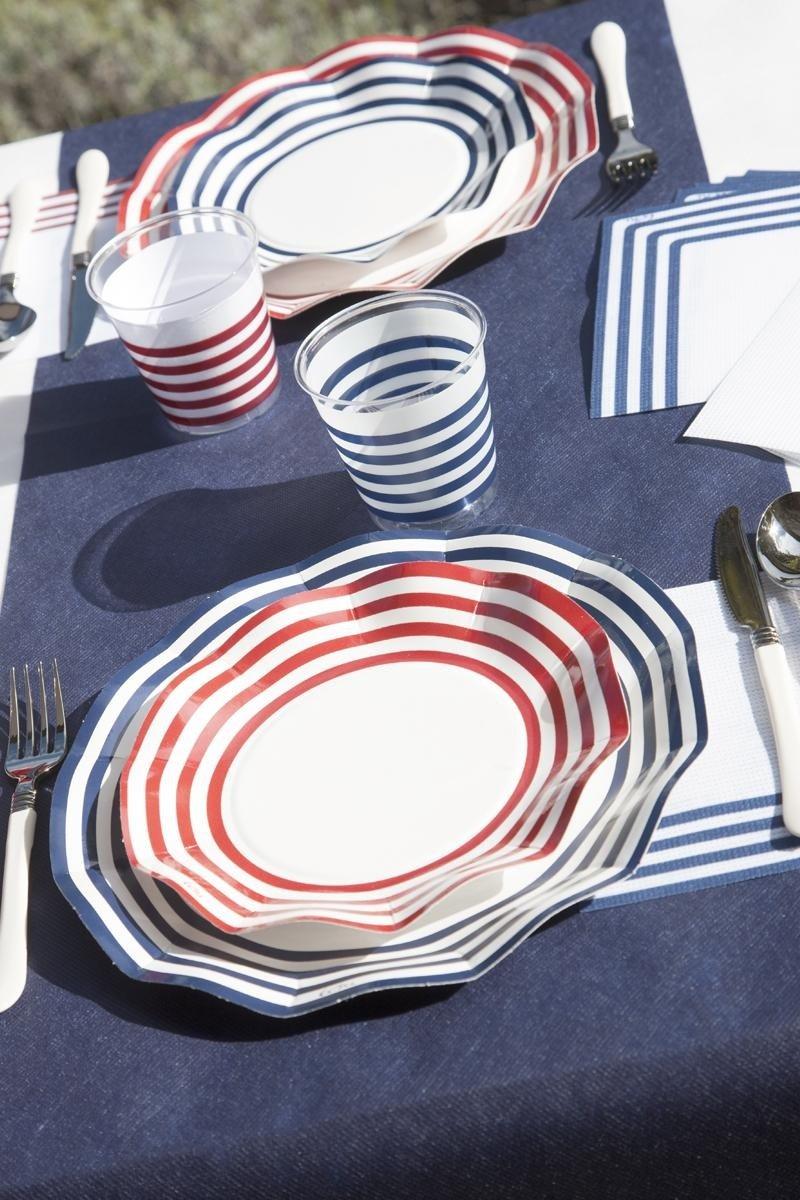 navy red&blu