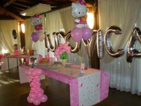 palloncini rosa e a lettera