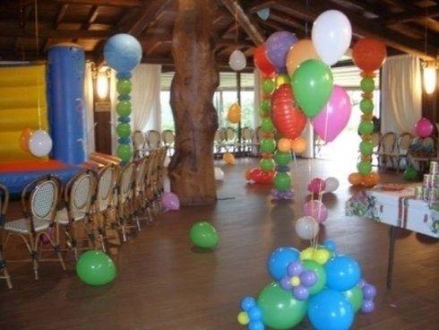 totem palloncini