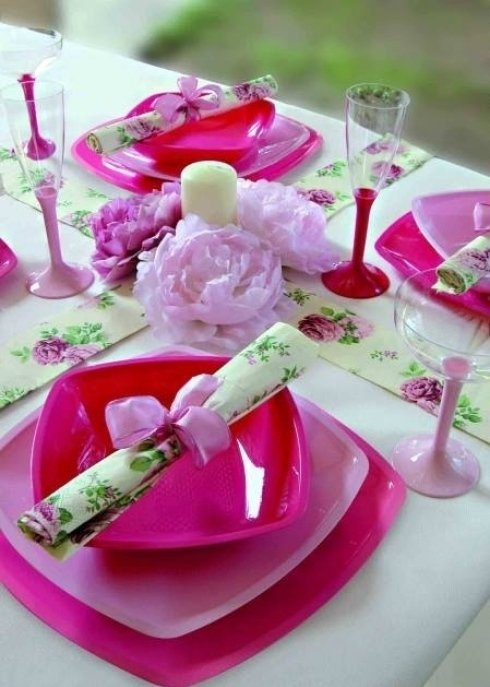 Allestimento tavola per cerimonia