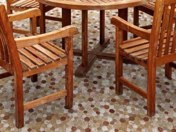 Mosaico Marmo Round