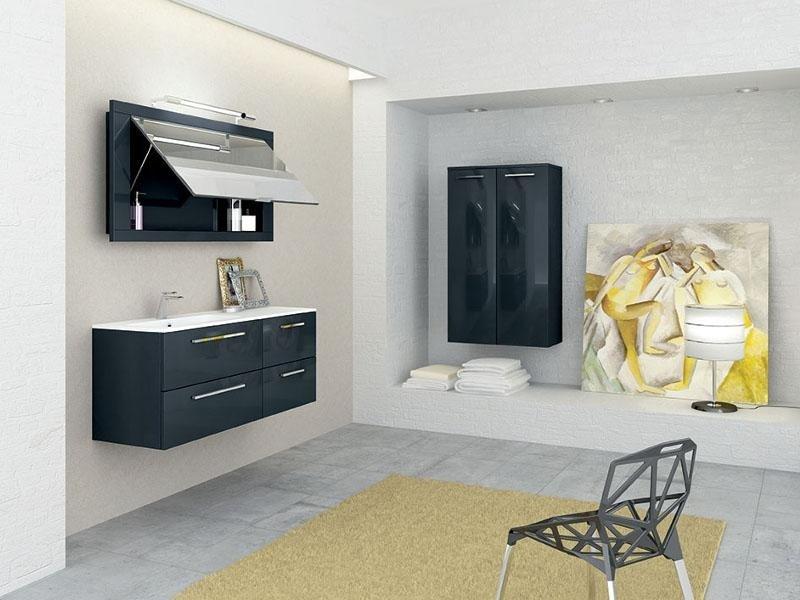 mobili nero lucido