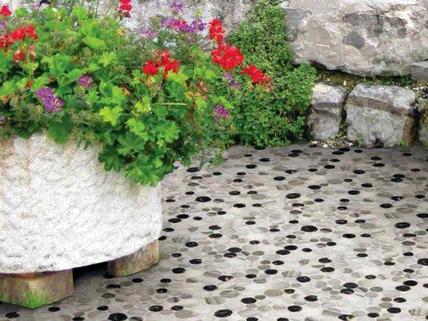 mosaico marmo esterni