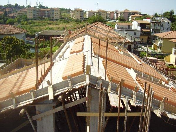 realizzazione tetto in c.a