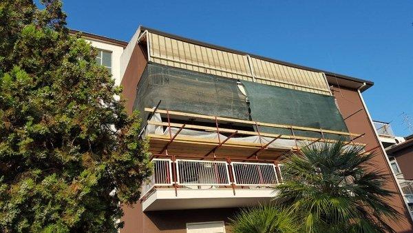 ripristino balconi con ponte a sbalzo