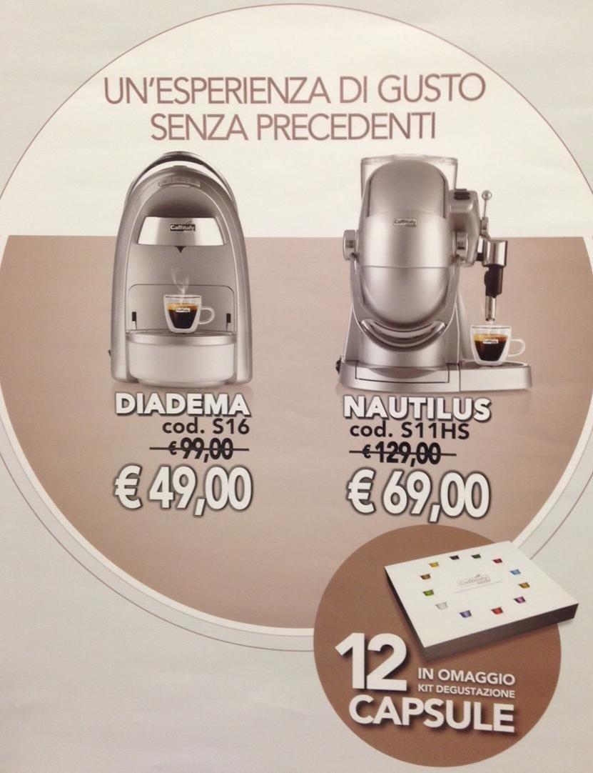 promozione macchina caffe