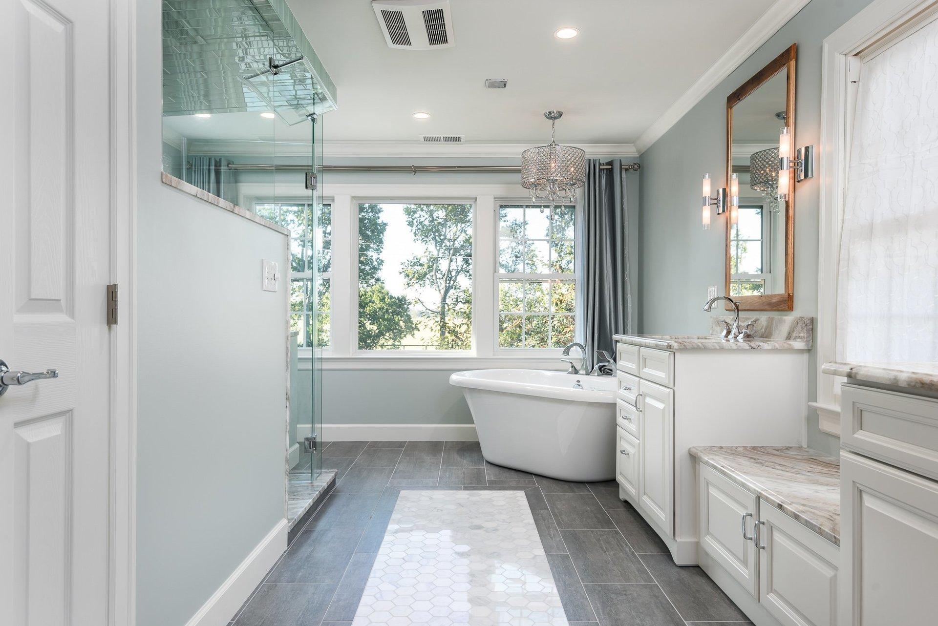 General contractors remodeling in lexington ky cincinnati oh for Bathroom remodel lexington ky