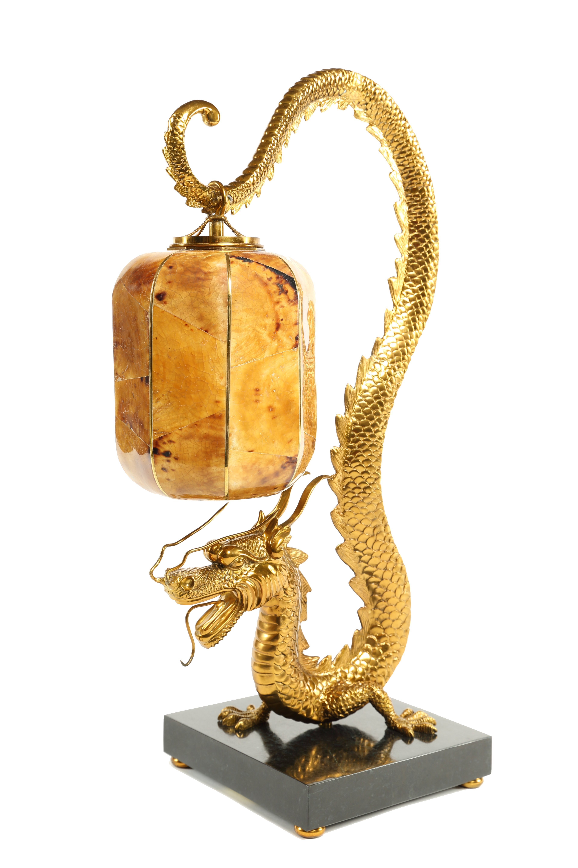 Wonderful Custom Dragon Lamp   Houston TX   The Shade Tree