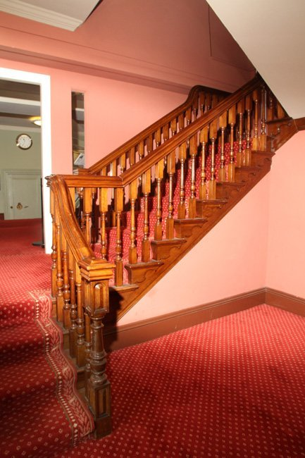 Heritage staircase installed at Worcester Guild Hall by B and P Joinery of Worcester