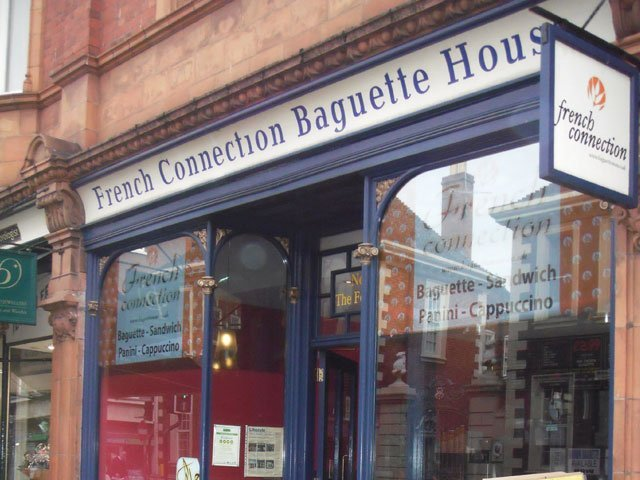 A timber shop front installed by B and P Joinery of Worcester