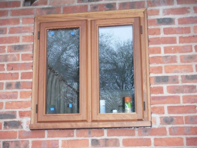 Storm proof timber windows constructed and installed by B and P Joinery in Worcester