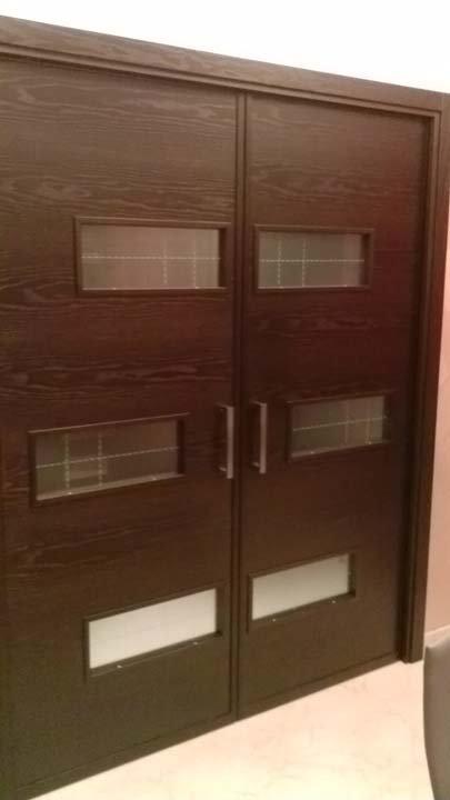 Porte a scrigno in legno