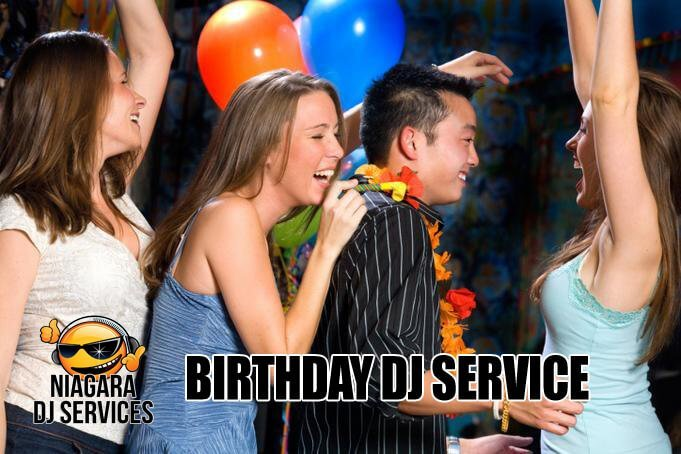 Birthday Party Dj Service Niagara Falls, Niagara-on-the-Lake