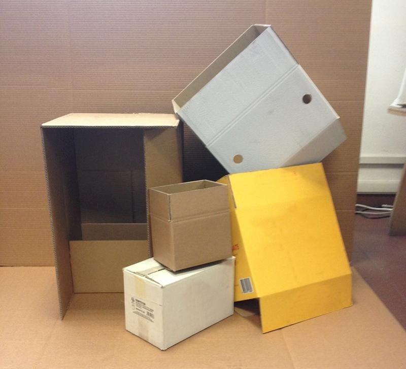 scatole americane con stampe personalizzate fino a tre colori