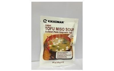 Zuppa di miso e tofu