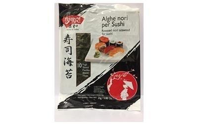 Alghe nori per sushi