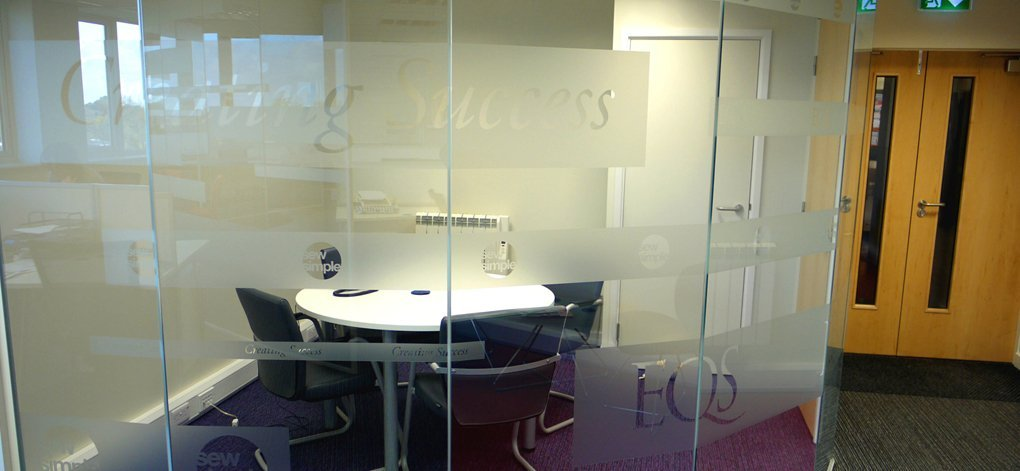 Office design by dsp interiors at eqs
