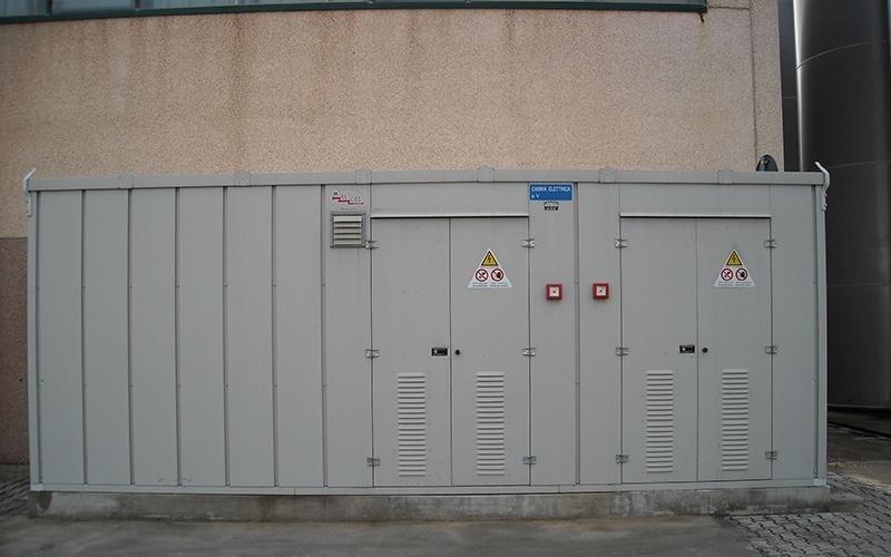 Cabina elettrica Amcor