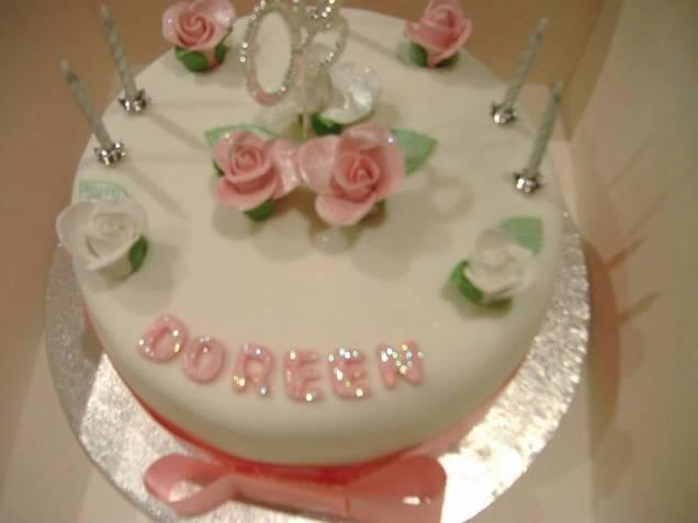 doreen celebration cake
