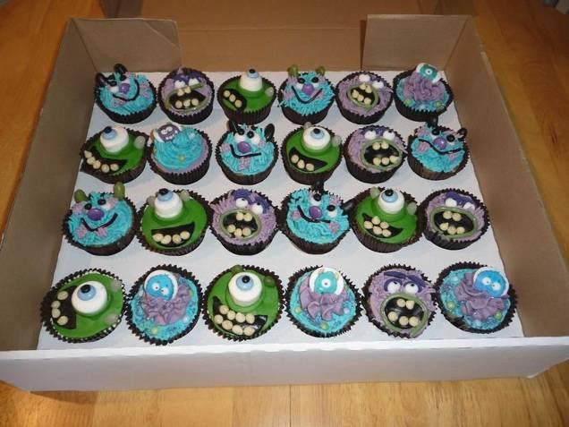 mosnter cakes