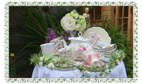 a selection of our faabulous china