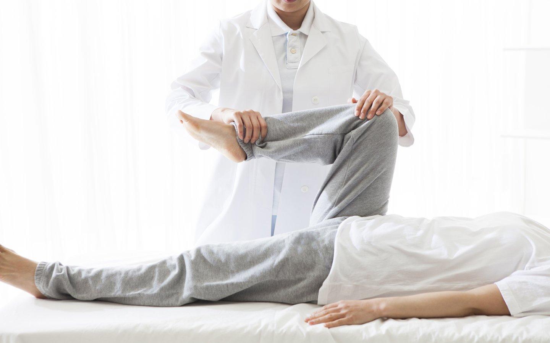 fisioterapia nelle gambe