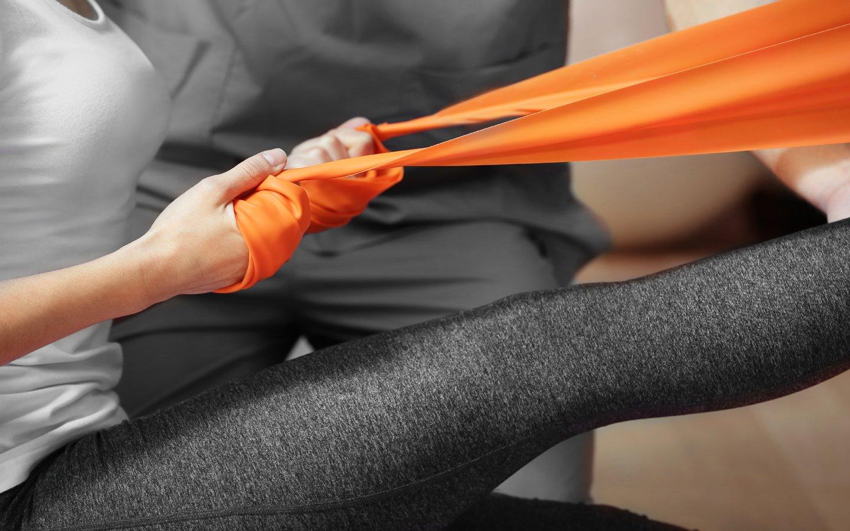 fisioterapia con gli apparecchi