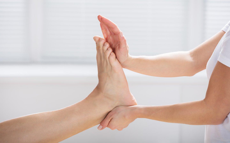 fisioterapia per i piedi