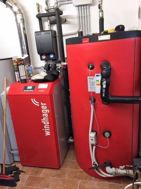 boiler per il riscaldamento dell'acqua