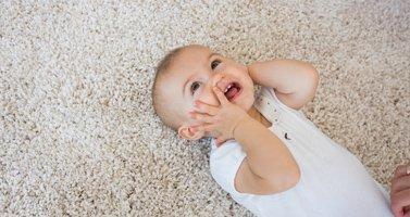 Baby on New Carpet Floor, Buffalo NY