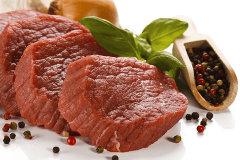 tagli di carne selezionate