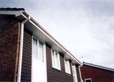 view of the roofline